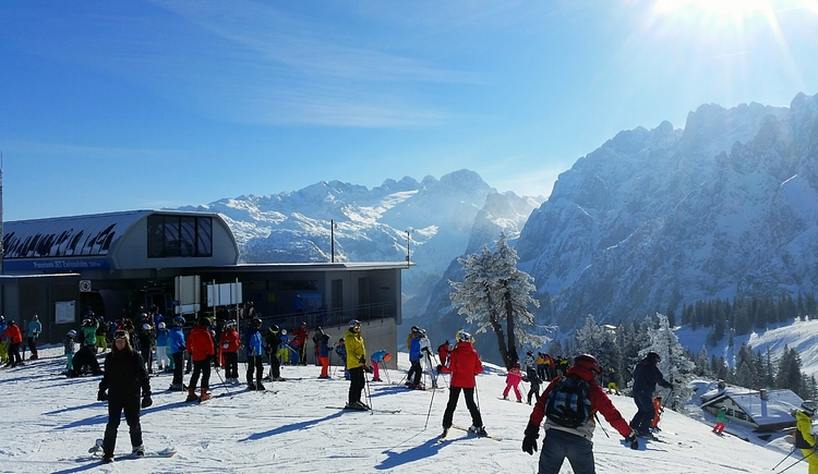 Enjoy the magnificent view on the Zwieselalm in Gosau. (© TVB)