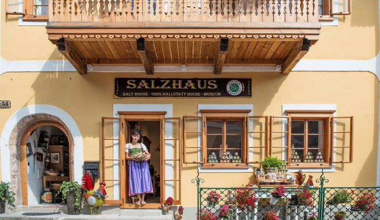 The Salzhaus gives you a big amount of various salt.
