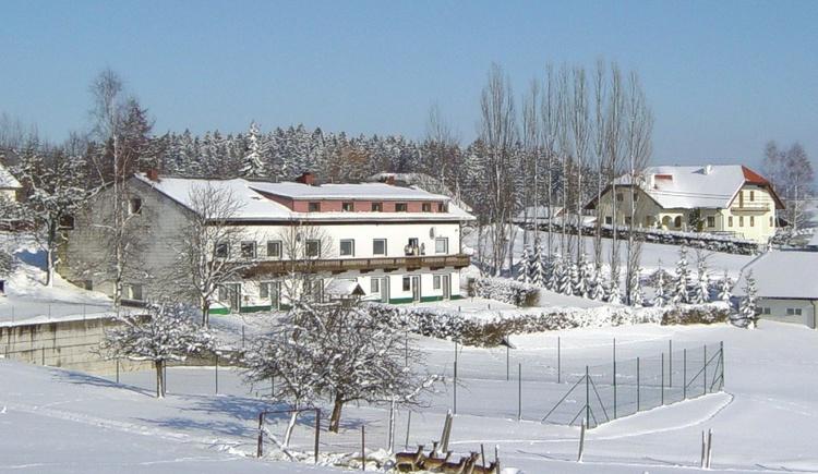 Haus im Winter (© ***Sportpension Ramlhof)