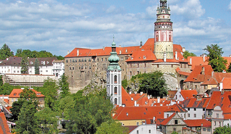Start dieser Jakobswegstrecke ist Krumau in Tschechien.