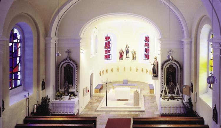 Pfarrkirche Steyrling innen (© Pfarre Steyrling)