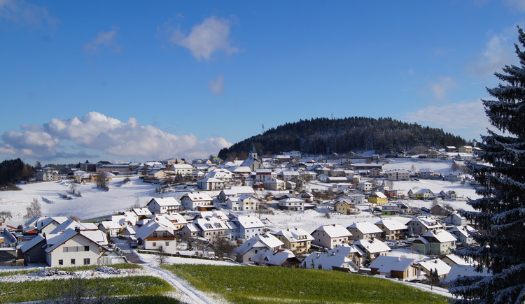 Ansicht vom Mühlberg (© Marktgemeinde St. Leonhard)