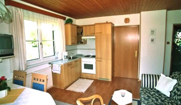 Haus Peer, Ferienwohnung 1, Wohnküche
