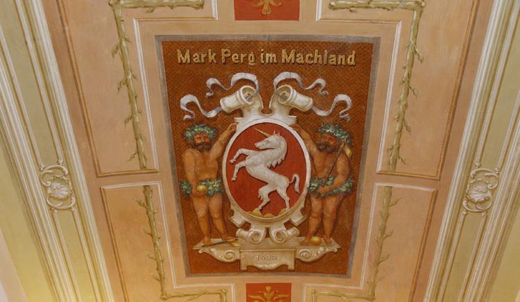 Rathaus Perg, Deckenfreske