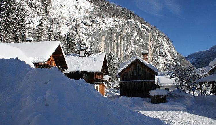 Unser Bauernhof im Winter (© Haus Annerl)