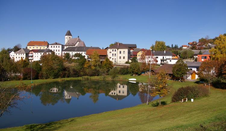Ortsansicht. (© Gemeinde Grünbach)