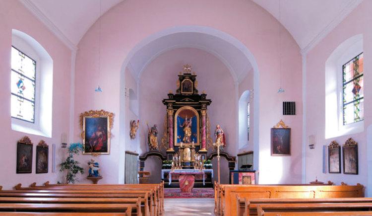 Kirche Neukirchen Innenansicht
