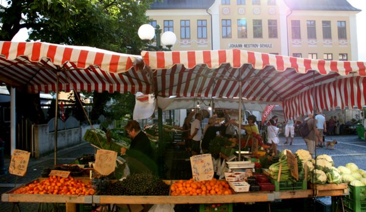Wochenmarkt (© www.badischl.at)
