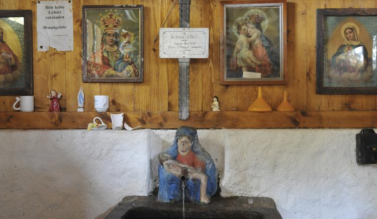 Die Quelle bei Maria Rast - genannt \
