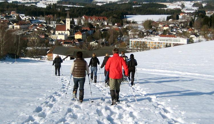 Schneeschuhwandern (© TV Bad Zell)