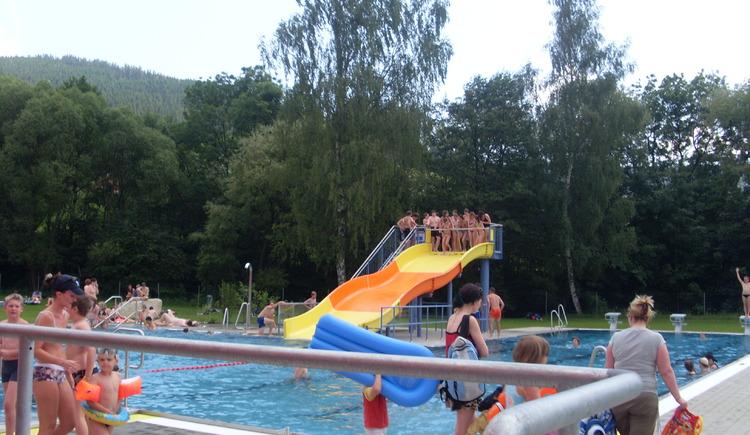 Freibad, Schwimmen,