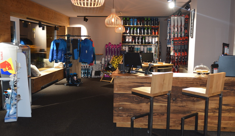Unser shop. (© Jirka Šenk)