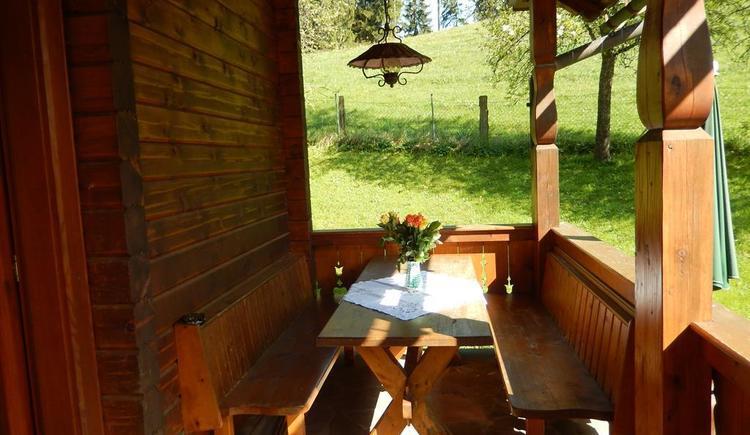 Terrasse Sitzgelegenheit Bild 3