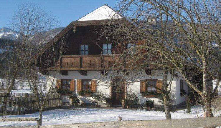 Landhaus im Winter. (© Landhaus Leitner)