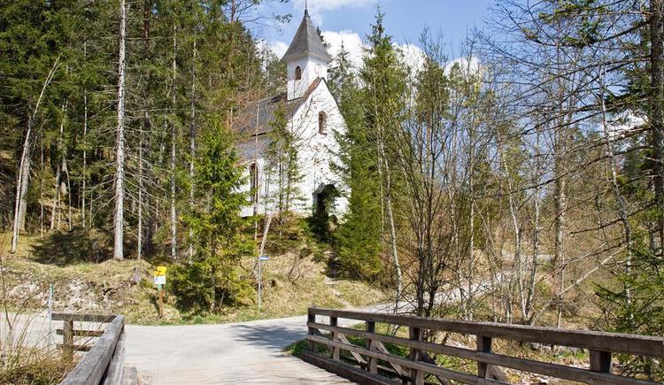 Brückenblick zur Dietlkapelle (© Sulzbacher)