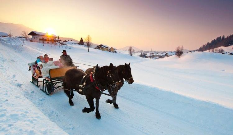 Pferdeschlittenfahrt (© Tourismusverband Fuschl am See)