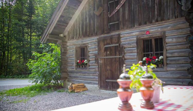 Holzknechhütte in Faistenau (© Hotel Alte Post Faistenau)