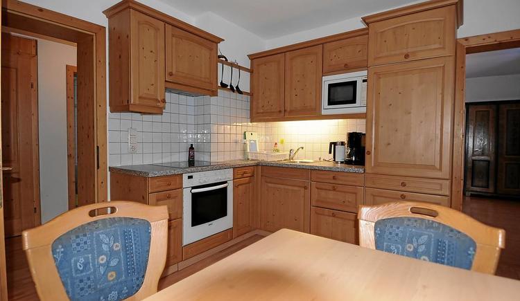 Die Küche im Apartment Hallstatt is voll ausgestattet.