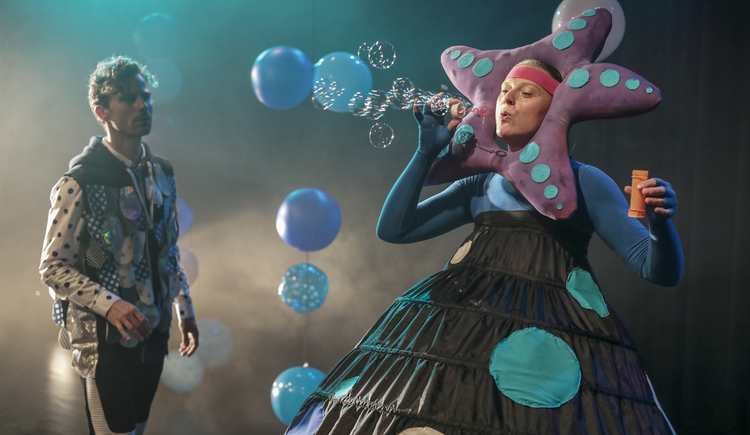 Der Regenbogenfisch - Theater des Kindes (© Theater des Kindes)