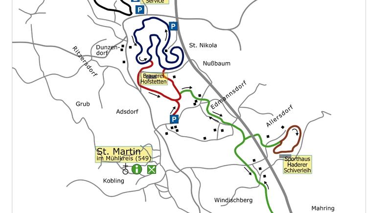 Karte (blaue Linie)