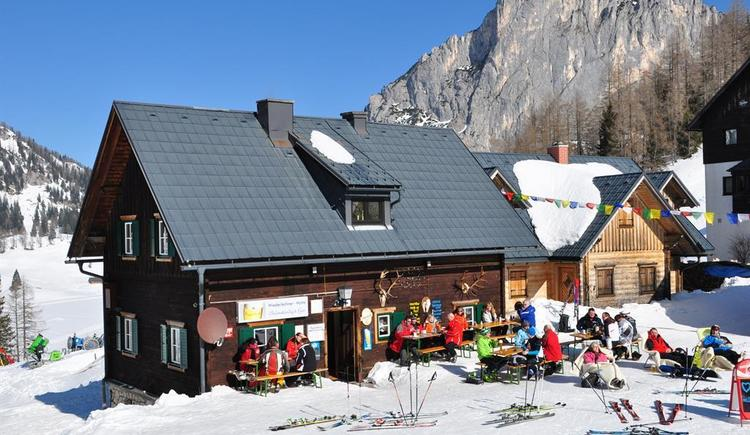 Wiederlechnerhütte im Winter (© Aspetzberger)