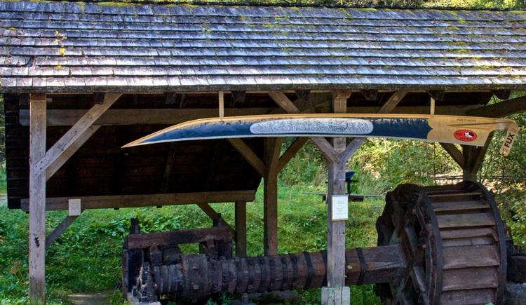 Wegweiser Stummermühle (© TVB Pyhrn-Priel/Sulzbacher)