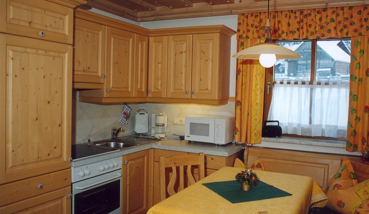 The kitchen of the house