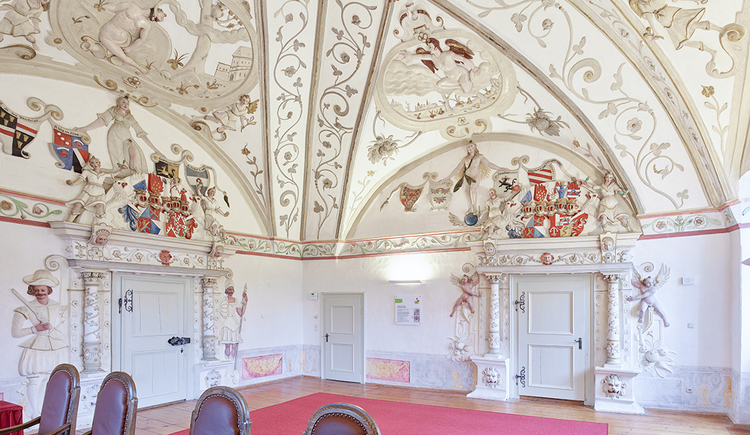 Schloss Weinberg, Kaisersaal. (© Schloss Weinberg / Kurt Hörbst)