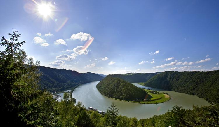 Naturwunder Schlögener Donauschlinge (© Donau OÖ - Weissenbrunner)