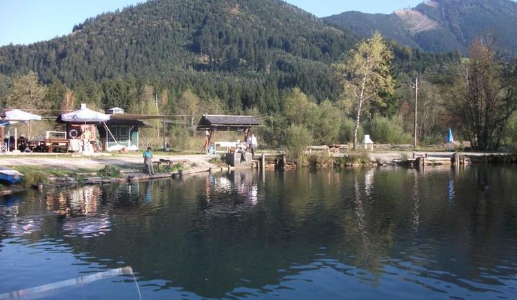 Ausblick am Fischteich (© Karner's Fischteich)