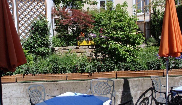 Gastgarten (© Bäckerei Rieß)