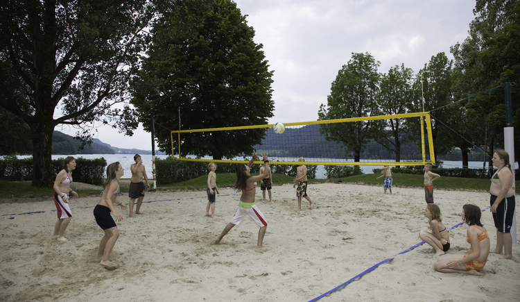 Beach Volleyball Platz (© Tourismusverband Fuschl am See)
