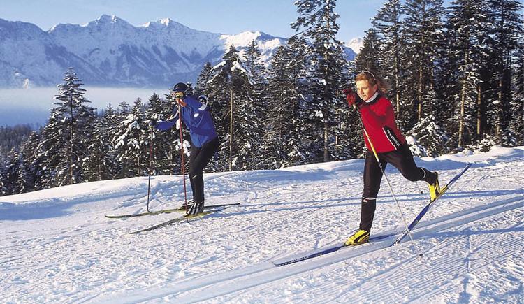 Die Höhenloipe Predigstuhl auf der Sonnenseite von Bad Goisern lässt die Herzen von Freunden des Langlaufsports höher Schlagen!