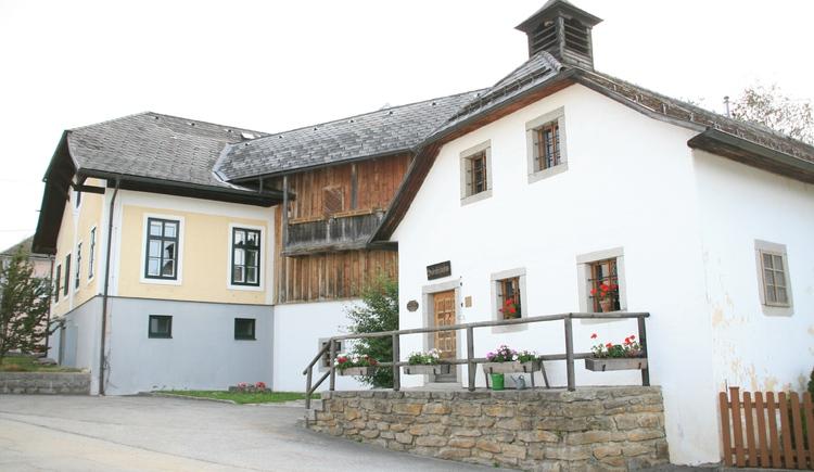 Hinterglasmuseum Außenansicht 1 (© Gemeindeamt Sandl)