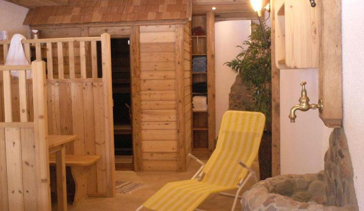 Wellnessbereich Sauna (© Alexandra Oberascher)
