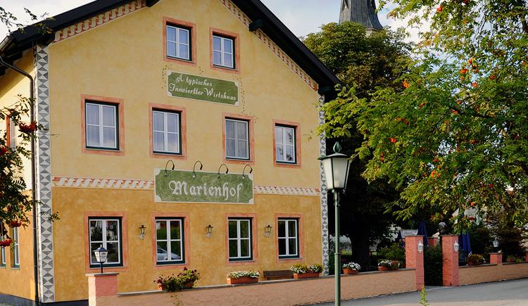 Gasthaus Marienhof, Kirchdorf. (© innviertel tourismus/hirnschrodt)