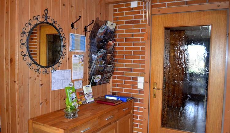 Frühstücksraum Eingang