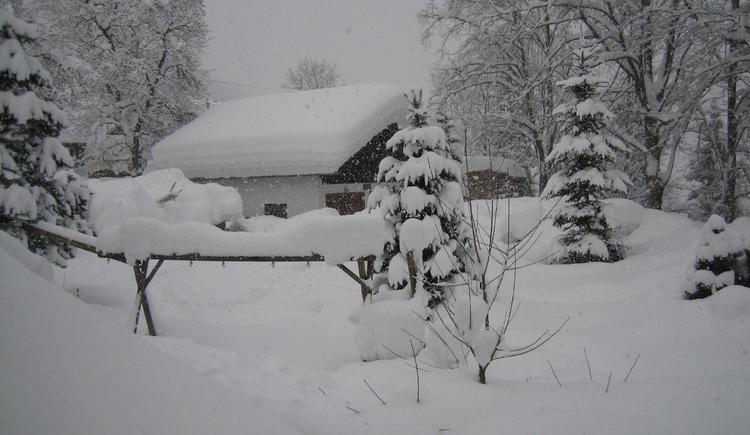 Schnee in H\u00fclle und F\u00fclle, Bad Goisern Winter 2006