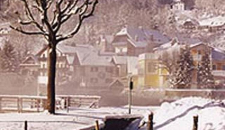 hofstaetterhausansicht - winter (© Privatzimmer Seepension Hofstätter)