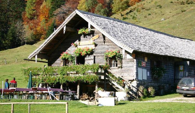 Mayerlehenhütte auf der Gruberalm