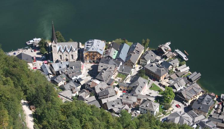 Hallstatt, Welterbeblick, Salzberg. (© Ferienregion Dachstein Salzkammergut / Stefanie Wallner)
