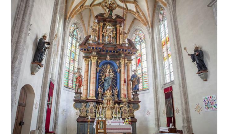 Kirche Adlwang (c) Horst Bachofner (© Horst Bachofner)