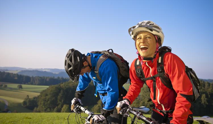 Mountainbiken im Mühlviertel (© OÖ Tourismus/Erber)