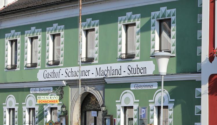 Gasthof Schachner, MAchland-Stuben, Perg, Tag, außen