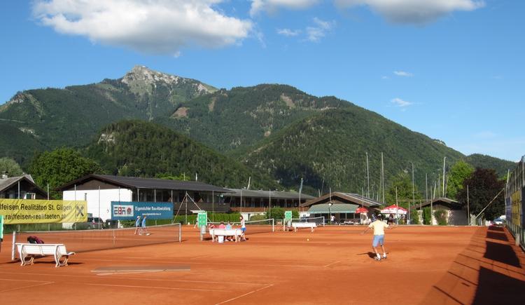 Tennisplatz St. Gilgen (© Schmidlechner)
