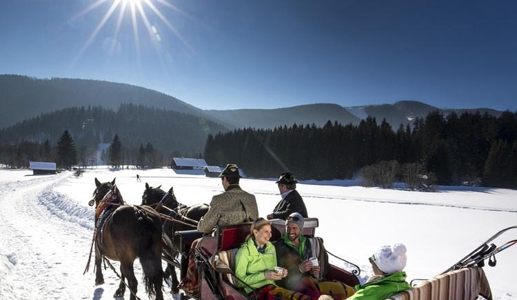 gemütliche Pferdekutschenfahrt (© Tourismusverband Ausseerland - Salzkammergut/Tom Lamm)