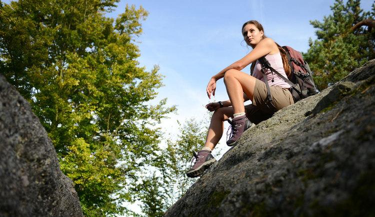 Der Weg ist das Ziel - der Gipfel zum Entspannen und Aufatmen (© OÖ Tourismus/Röbl)