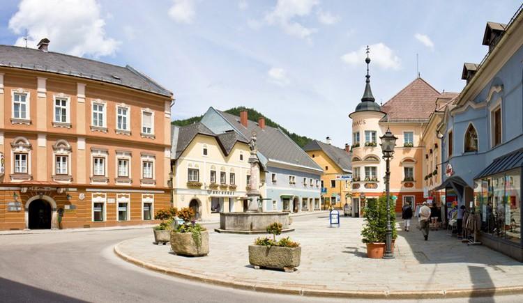 Marktbrunnen Windischgarsten (© TVB Pyhrn-Priel/Sulzbacher)