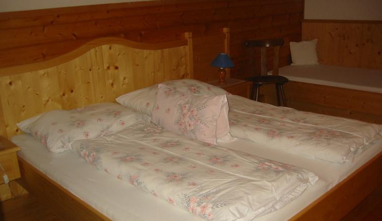 Schlafzimmer Ferienwohnung Schärferbauer