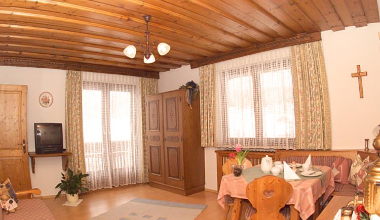 Ferienwohnung Sparberblick Wohnzimmer